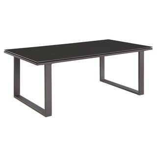 Chance Glass-top Outdoor Patio Coffee Table