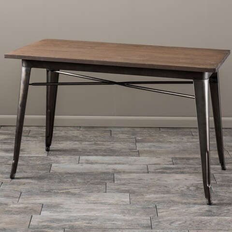 Elmton Wood Table by Christopher Knight Home - Brown