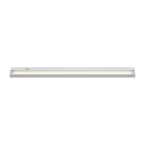Cambridge White Finish 24 in. Under Cabinet With A Frosted Shade