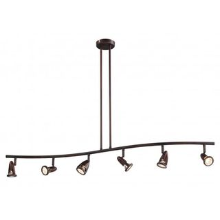 Cambridge 6-Light Rubbed Oil Bronze 47.25 in. Track Light