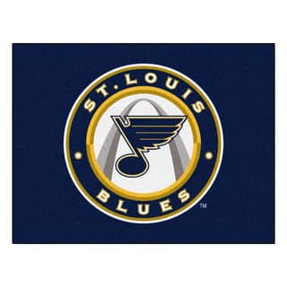 Fanmats Machine-Made St Louis Blues Blue Nylon Allstar Rug (2'8 x 3'8)|https://ak1.ostkcdn.com/images/products/10038922/P17183970.jpg?impolicy=medium
