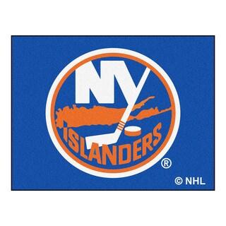 Fanmats Machine-Made New York Islanders Blue Nylon Allstar Rug (2'8 x 3'8)
