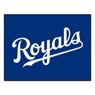 Fanmats Machine-Made Kansas City Royals Blue Nylon Allstar Rug (2'8 x 3'8)