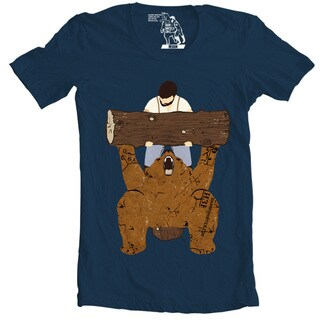 Bear Spotting Men's Navy Bear Spotting Short Sleeve T-shirt