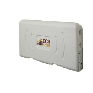 ECR4Kids Horizontal White Changing Station