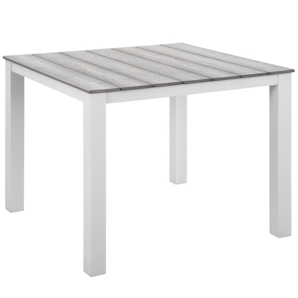 Main 40 Inch Outdoor Patio Dining Table