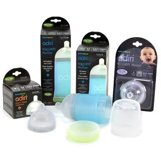 Adiri Newborn Infant Feeding System (Option: Clear/Blue)