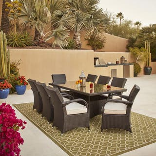 size dining costco table patio round piece of graceful full outdoor sets patios set