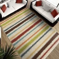 Clay Alder Home Casco Stripe Multicolor Area Rug - 7'8 x 10'10