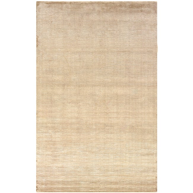 Satori Mushroom Runner Solid Area Runner Rug (25 x 79) - 25 x 79 Runner/Surplus (Beige - 25 x 79 Runner/Surplus)