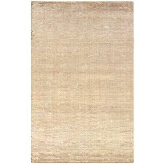 Satori Mushroom Rectangle Solid Area Rug (9' x 12'9)