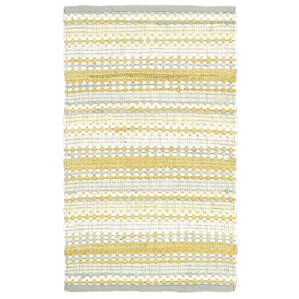Shop Altair Yellow Floral Area Rug 8 X 10 8 X 10