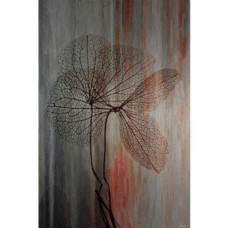 Parvez Taj 'Sea Tree' Painting Print on Brushed Aluminum