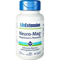Life Extension Neuro-Mag Magnesium L-Threonate (90 Vegetarian Capsules)