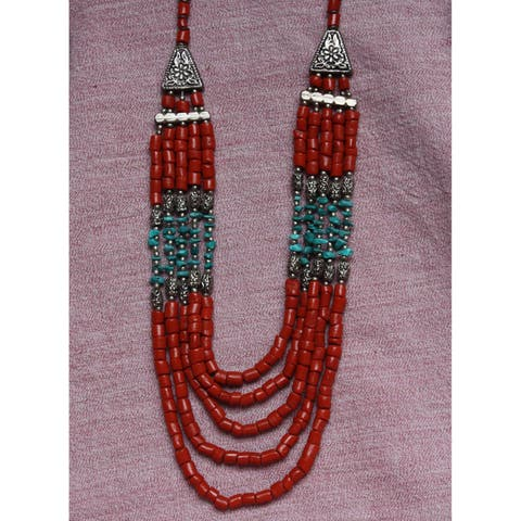 Handmade Auspicious Necklace (India)