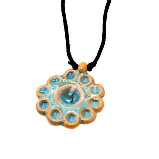 Handmade Blossom Sea Necklace (India)