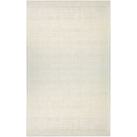 "Couristan Madera Dexter/Off White Area Rug - 3'5"" x 5'5"""