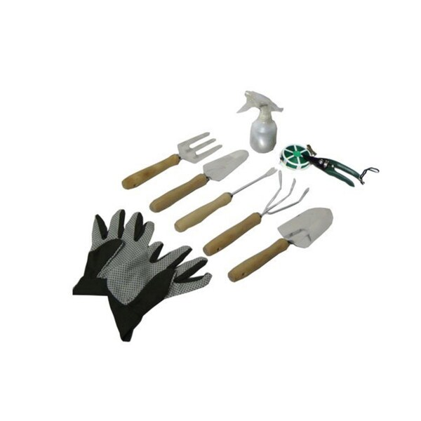 Picnic Pack 9-piece Gardening Tool Kit with Foldaway Stool with Backrest and Detachable Tote - Free Shipping Today - Overstock.com - 17184484  sc 1 st  Overstock.com & Picnic Pack 9-piece Gardening Tool Kit with Foldaway Stool with ... islam-shia.org