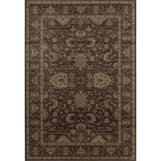 Treasures Brown/ Tan (8' x 11') Rug