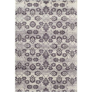 Radiant Purple/ Cream (8' x 11') Rug