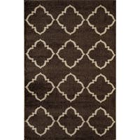 Canyon Brown/ Cream Area Rug - 5' x 8'