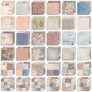 "Idea-Ology Paper Stash Paper Pad 12""X12"" 36/Pkg-Correspondence"