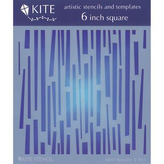 "Judikins 6"" Square Kite Stencil-Beatnick"