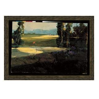 Ted Goerschner 'The 1st Tee' 34 x 28 Framed Art Print