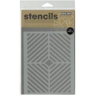 "Hero Arts Stencils 6.25""X5.25""-Window Pane"