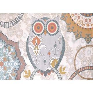 Metro Owl Area Rug (7'10 x 10'6)
