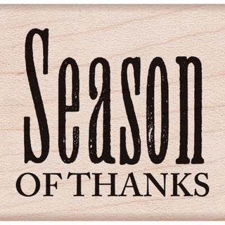 "Hero Arts Mounted Rubber Stamps 1.5""X1.75""-Season Of Thanks"