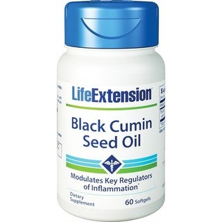 Life Extension Black Cumin Seed Oil (60 Softgels)