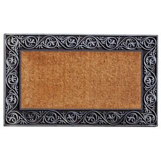 Prestige Silver Border Doormat