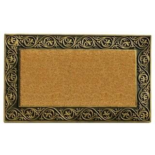 Prestige Gold Border Doormat