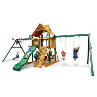 Gorilla Playsets Chateau Duo Swing Set