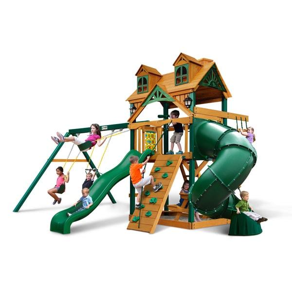 Gorilla Playsets Malibu Extreme Swing Set