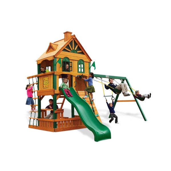 Gorilla Playsets Riverview Swing Set 17184959 On Popscreen