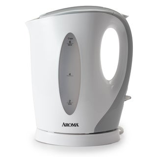 Aroma AWK-105 White 1.5-Liter Electric Water Kettle