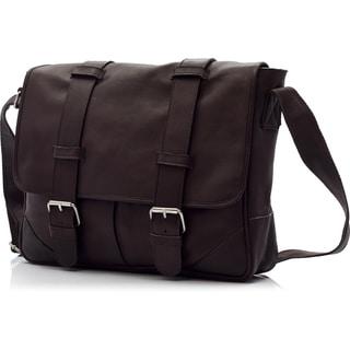 Muiska Dublin Handmade Vaquetta Leather 15-inch Laptop Messenger Bag
