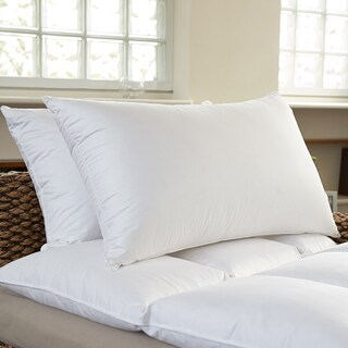 Luxury 400 Thread Count Feather and Down Pillows (Set of 2) (3 options available)
