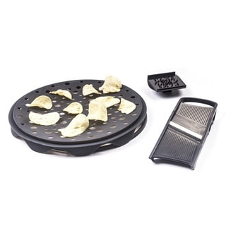 Healthy Chips Maker and Slicer Set - 3 Piece Chips Maker
