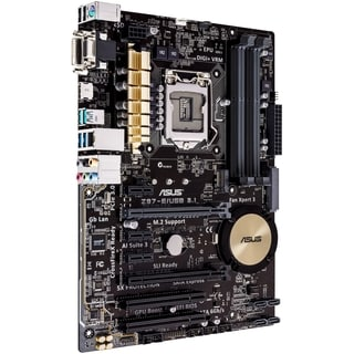 Asus Z97-E/USB3.1 Desktop Motherboard - Intel Z97 Express Chipset - S