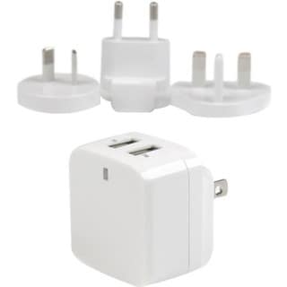 StarTech.com White Dual Port USB Wall Charger - High Power (17 Watt /