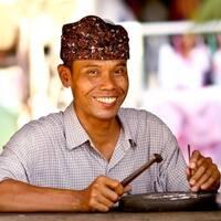 Handmade Sukawati Fern Sterling Silver Ring (Indonesia)