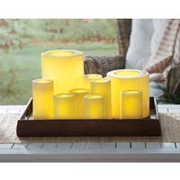Order Home Collection Grand Pillar Plastic LED Candles