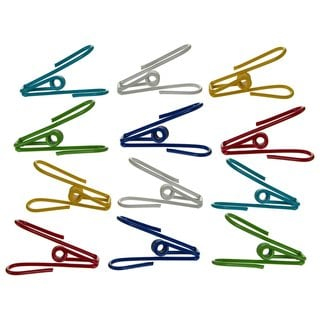 Progressive International Prepworks Wire Coated Clips (Set of 12)