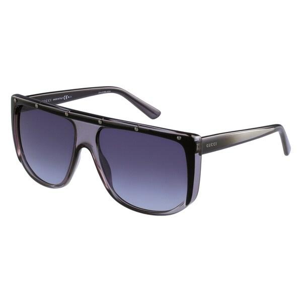 8f47d0d2b56 Shop Gucci Women s 3705 S Plastic Rectangular Sunglasses - Free ...