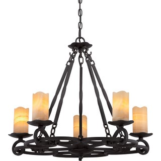 Quoizel Armelle Imperial 5-light Bronze Chandelier