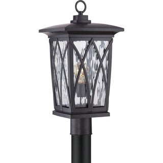 Grover Mystic Black Large Hanging Lantern