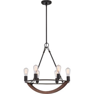 Quoizel Anchor 6-light Imperial Bronze Chandelier